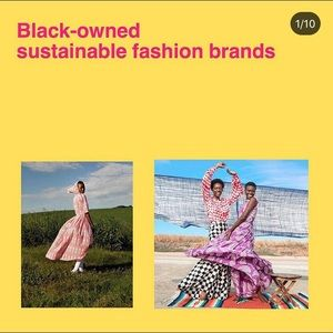 Black Owned Sustainable Fashion Brands